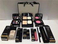 makeup set best eyeliners - Best selling High Quality Eye Shadow Eyeliner Mascara Lipstick Lip Gloss Blush Foundation pieces makeup set