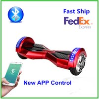 motor scooter - Self Balancing Hoverboard Bluetooth W Brushless Motor Ah battery Smart Balance Unicycle wheel With Key Smart Blance Wheel Scooter