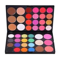 Wholesale Lenny Color Eyeshadow Eyeshadow disc nude make up waterproof matte pearl silkworm earth color makeup