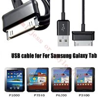 Wholesale 3FT USB For P1000 Charger Sync Cord Data Cable For Samsung Galaxy Tab quot P3113 Tab2 P5100 and Note N8000 P7500 P1000 E066 Cable