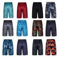 Wholesale New Arrival Men Printed Tights Elastic Waist Running Shorts Summer Sports Basketball Cycling Pants Casual Loose Underwear