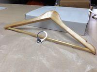 Wholesale Wooden Hanger Hotel Coat Hanger Garment Suit Hanger For Hotels SPA Resort