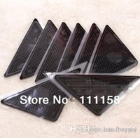 Wholesale 1000 DHL RUGGIES Rug Grippers Stick Triangle Anti Slip PU Mats Powerful Silica Gel Strong Magic Pad for Rug xx