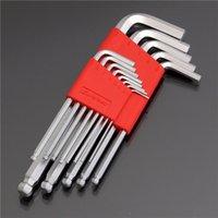 ball end hex key - 13pcs to Inch Chrome Vanadium Steel Wrench Ball End Hex Key Wrench Set