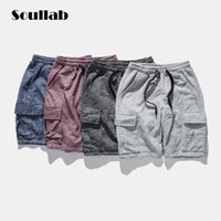 baggy shorts boy - Cargo baggy drawstring mens male boy Sweat jogger Shorts bottom hip hop hemp harem fashion summer solid famous brand clothing