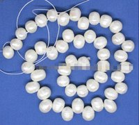art strands - xd j00462 strands mm natural real white growth Oval pearl loose beads stone quot jewelry making