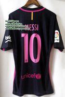 barcelona jersey kit - top player version la liga messi neymar suarez soccer jersey away kit barcelona