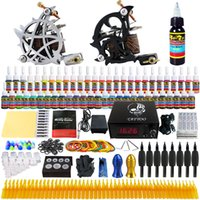 Wholesale solong tattoo New Pro Machine Guns Tattoo Kit Inks Power Supply Needle Grips TK230