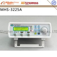 Wholesale MHS A Dual channel DDS Signal Generator MHz Sine wave MSa s DDS signal source frequency meter TTL output