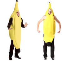 banana halloween costume - Halloween Party Cosplay Funny Sexy Banana Costume Flasher Adult Men s Women s Novelty Carnival Party Dress WS0064