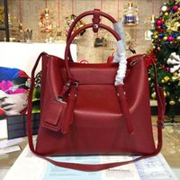 aaa quality handbags - XDY AAA quality Famous Designer PA NO208 Brand double Bags Women Leather Handbags Genuine Italian Leather Shopping Shoulder Crossbody Bags