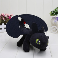 Wholesale In Stock cm How To Train Your Dragon Mini Plush Toothless Night Fury Toy Stuffed Animals Toys Christmas Gift