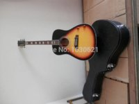 chibson - 2015 New Factory Chibson J160 acoustic guitar tones sunburst J160 acoustic electric guitar with neck pickups