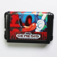 Wholesale DC MD SS SEGA Memery Cards Phantom Sonic bit MD Game Card For Sega Mega Drive For Genesis