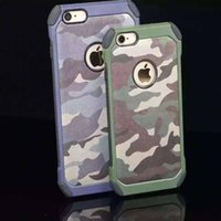 Wholesale Cheapest Iphone Custom Case - Mobile phone sales fell TPU PC set new high anti camouflage 2 IN 1 cheap cell phone accessories custom phone cases