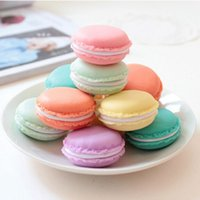Wholesale 36 Macaron storage box Clips holder Candy mini teddy organizer organizadora Gift Stationery Office supply