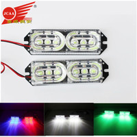 Wholesale LED motorcycle brake lights strobe lights to refit super bright V JC warning lamp decoration lamp