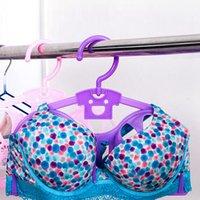 Wholesale Anti deformation lingerie hangers bra rack bra drying rack hanger racks underwear wet and dry storage shelf