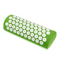 acupressure treatment - Acupressure Massage Pillow Spike Relieve Stress Pain Yoga Health Care Shakti Massager Relaxation Neck Pain Relief Treatment