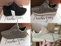 sneakers - Mens Moonrock Oxford Tan Pirate Black Turtle Dove Women s Boosts Sneakers High Quality kanye West Shoes Drop Shipping