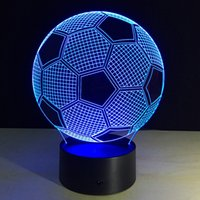 Tours d'éclairage dirigé Avis-USB Led 3D Night Light Fashion Projector Dolphin Football Tour Eiffel Décor de Noël Ambiance Lamp For Baby Party Kids Room