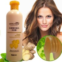 Wholesale Ginger Hair Shampoo Professional Hair Scalp Treatment Healthy Hair Growth Smoothing Anti Hair Loss