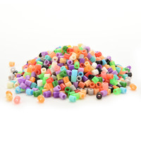 Wholesale NEW mm hama perler fuse beads Colors iron beads kids diy handmaking toys