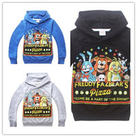 big five animals - Fast shipping by SF Five nights at freddy s hoodies Thin Sweatshirts Boys casual coat Tops middle big school kids clothes Spring autumn