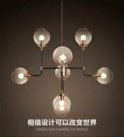 art style clothing - 2016 new design north Europe style Modo Magic Bean Pendant Lamps Globes Glass lampshade MODO DNA Pendant Lights for coffee clothing