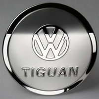 Wholesale Tank Cover For VW Volkswagen Tiguan Stainless Steel Fuel Tank Cover Oil Cover Gas Cap Trim