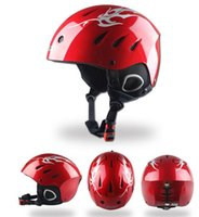 Wholesale Latest style Skiing helmet Snow Sports Protective Gear Helmet Professional Ski Helmet Size cm Black Color Made of ABS And EPS Material