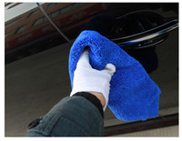 Wholesale Wash Car Thickening Superfine Fiber Towel Water Uptake Remove Dust Rag Vehicle Cleaning Tool