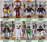 Wholesale Plants Vs Zombies Plush Toys Children Game Dolls Toy Terror Children s Day Gift FedEx