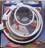 Wholesale Smart Lidz Vacuum Sealer Lids Food Preservation Cover Fruit Preservation Film Fresh Box Lid Fitchen Tools AA