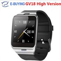 оптовых gv08 smart watches-2017 Aplus GV18 Смарт часы Bluetooth с камерой Android часы телефон поддержки SIM-карты SmartWatch для смартфона PK DZ09 GV08
