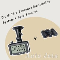 benz trailer - Tire Pressure Monitoring System Car TPMS tools with External Sensors for Truck Trailer RV Bus Miniature passenger car
