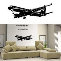 airbus airplanes - Home Decor Vinyl Wall Decal Sticker Plane Air Boing Airbus Aircraft Big Airplane