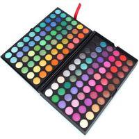Cheap 120colors Eye Shadow Nake Professional Makeup Eyeshadow Palette 120 Color Make up Set Matte&Shimmer Eyeshadow Powder Free Shipping