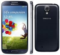 Wholesale Original refurbished Samsung Galaxy S4 SIV I9500 phones inch G G GB GB MP Camera NFC WIFI GPS cellphone Unlocked