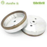 Wholesale 1pc Full rim diamond wheel for glass edger straight line machine Dia150x10x10 Inner Diameter grit BL014