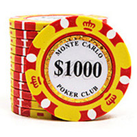 Wholesale Luxury Design Poker Chips g Clay Iron ABS Chips Texas Hold em Poker For Club
