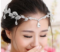 Wholesale Rhinestones Crystals Bridal Tiaras Crowns Wedding Bridal Tiaras Jewelry For Wedding Hairbands Hair Accessories Bridal Tiaras Hair Wedding