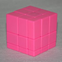 Wholesale Shengshou Mirror x3x3 Level Magic Cube Puzzle Speed Cube Kids Educational Toys Pink