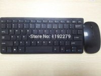 Wholesale 1set G Black White Wireless PC Keyboard Mouse Keypad Set For DESKTOP PC Laptop