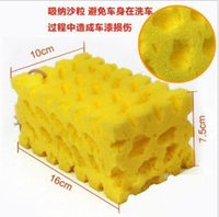 Wholesale Honeycomb coral sponge cleaning tool car wash sponge ultra wear cleaning does not hurt the paint