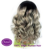 Wholesale Brazilian deep wave loose wave curly straight body wave lace frontal hair wigs natural human hair all colors