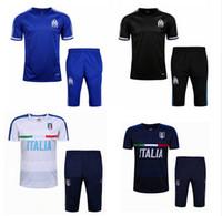 Wholesale 2016 Survetement Football Italy Soccer Tracksuit Marseilles Training suit Maillot de Foot