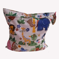 Wholesale Baby Protable Nappy Reusable Washable Wet Dry Cloth Zipper Waterproof Diaper Bag