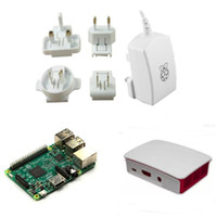 accessories for raspberry pi - Freeshipping Official A V Power Supply designed for use in the UK EURO USA AUS Official Case Raspberry Pi Model B