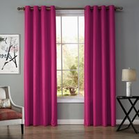 best vertical blinds - Good Quality BEST Price Modern Simple Style Deep Pink Color Vertical Blinds Curtain for Sale